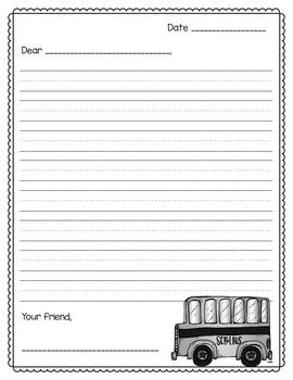 Pen Pals (Friendly Letter Writing)