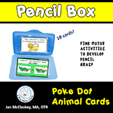 Poke Dot Activities to Develop Pencil Grasp