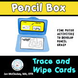 Trace and Wipe Cards for Pencil Grasp and Fine Motor Skills