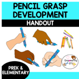 PENCIL GRASP DEVELOPMENT HANDOUT prek 1 2 3