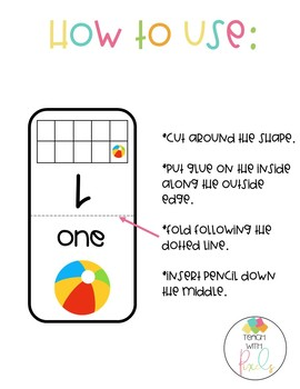 PENCIL TOPPERS Addition Anchor Chart FREEBIE