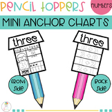 PENCIL TOPPERS Addition Anchor Chart