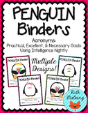 PENGUIN Binder {Student Organization Folder}