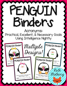 PENGUIN Binder {Student Organization Folder}