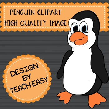 PENGUIN CLIPART -  DIGITAL IMAGE