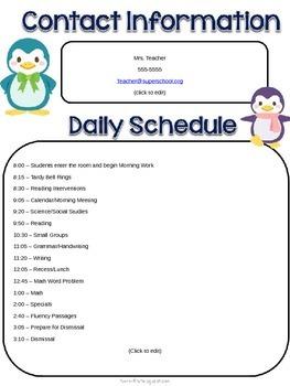 PENGUIN Communication Folder