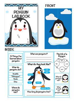 Penguin Craft Freebie