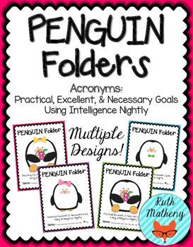 PENGUIN Folder {Student Organization Folder}
