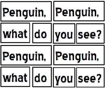 PENGUIN LITERACY ACTIVITIES