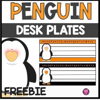 https://www.teacherspayteachers.com/Product/Penguin-Desk-Plate-Freebie-1681414
