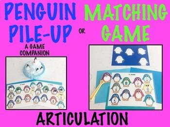 PENGUIN PILE-UP, GAME COMPANION & MATCHING GAME, BUNDLE