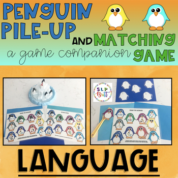 PENGUIN PILE-UP, GAME COMPANION & MATCHING GAME, LANGUAGE (SPEECH & LANGUAGE)