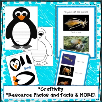 PENGUINS Non-fiction Unit for Kindergarten and 1st Grade