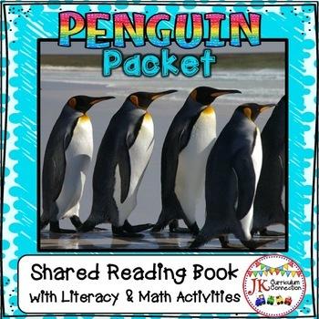 PENGUINS Non-fiction Unit for Kindergarten and 1st Grade