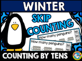 WINTER MATH CENTER KINDERGARTEN, 1ST GRADE (PENGUINS SKIP