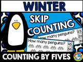 WINTER MATH CENTER FIRST GRADE (PENGUINS SKIP COUNTING ACT