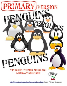 PENGUINS Activities and Centers Primary Version