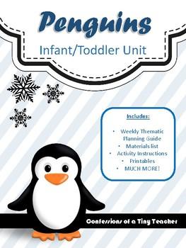 PENGUINS!!! {An Infant/Toddler Activity Pack}