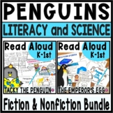 Penguins Read Aloud Bundle with Lesson Plans and Activities