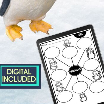 PENGUINS   Graphic Organizers for Reading   Reading Graphic Organizers