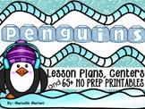 PENGUINS- literacy, math, science, and art fun- PENGUINS MEGA THEME PACK