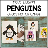 PENGUINS Move & Learn Gross Motor Games for Preschool, Pre