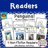 PENGUINS! Non-fiction Beginning Readers for Guided Reading