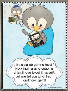 PENGUINS: Point of View Journal Prompts