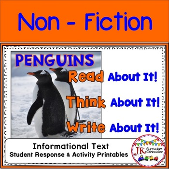 PENGUINS Read About It-Think About It-Write About It Non-fiction