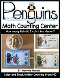 PENGUINS THEMED MATH COUNTING CENTER ACTIVITY- COUNTING TO 10