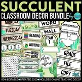 Cactus Theme Classroom Decor. Succulents