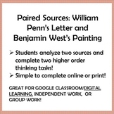 PENNSYLVANIA COLONY, Paired Sources: William Penn's Letter