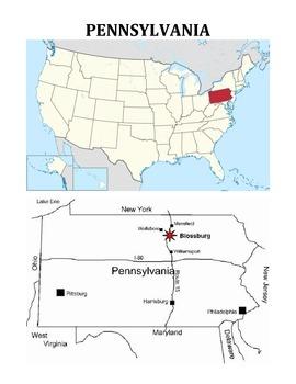 PENNSYLVANIA FACTS UNIT (GRADES 3 - 5)