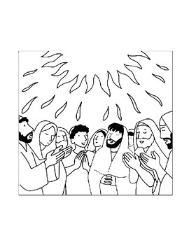 PENTECOST COLORING, BUNDLE 10 PAGES, PENTECOST ACTIVITIES, PENTECOST SUNDAY