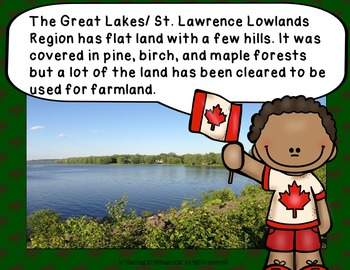PEOPLE AND ENVIRONMENTS: PHYSICAL REGIONS OF CANADA Great Lakes & St. Lawerence