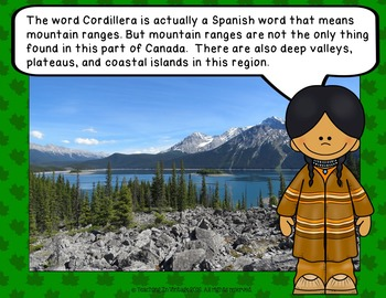 PEOPLE AND ENVIRONMENTS: PHYSICAL REGIONS OF CANADA Cordillera