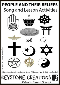 'PEOPLE & THEIR BELIEFS' ~ MP3: READ, SING & LEARN About Religious Diversity...