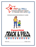 PEP TRACK & FIELD Parent/Child PE Lesson plans preschool curriculum