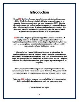 PEP WINTER BUNDLE 3 SPORTS PROGRAMS Parent/Child lesson plans