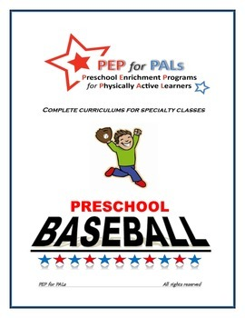 PEP for PALs Baseball preschool sports program, t-ball, en