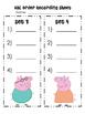 PEPPA PIG ABC ORDER back to school