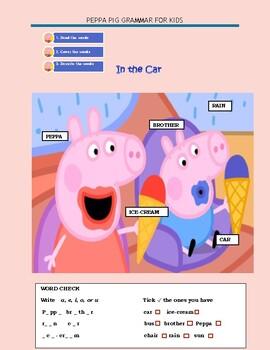 PEPPA PIG GRAMMAR FOR KIDS