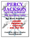 PERCY JACKSON And The Olympians (1) 257 Page CCSS Novel St