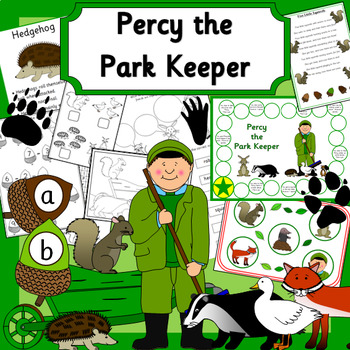 PERCY THE PARK KEEPER book study unit