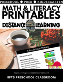 DISTANCE LEARNING * 4-WEEKS PRINTABLES | Great for at-home school
