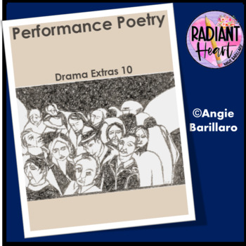 Drama Extras 10:  Performance Poetry - Radiant Heart Publishing