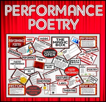 PERFORMANCE POETRY TEACHING RESOURCES KEY STAGE 1-2 THE MAGIC BOX POEM ENGLISH