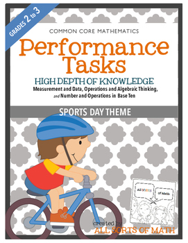 MATH PERFORMANCE TASKS {Sports Day} GRADES 2-3
