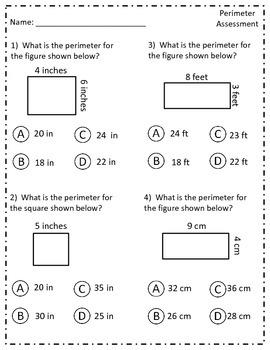 PERIMETER ASSESSMENT: 10 Question assessment for Gradecam