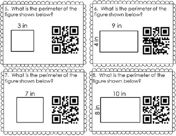 PERIMETER SCOOT with QR codes 4.MD.A.3